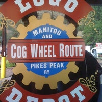 Photo taken at Pikes Peak Cog Railway by Dulce F. on 8/29/2012