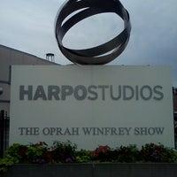 Photo taken at Harpo Studios by Justin B. on 7/22/2012