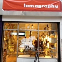 Photo taken at Lomography Gallery Store Manchester by Amiel P. on 2/8/2012