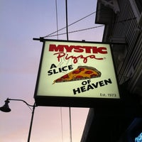 Photo taken at Mystic Pizza by Heather M. on 8/21/2012