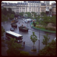 Photo taken at Place d'Italie by Jason F. on 7/14/2012