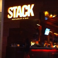 Photo taken at STACK Restaurant & Bar by Katerina G. on 3/4/2012