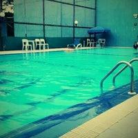 Photo taken at Swimming Pool Hotel Tiara by Aldy C. on 3/18/2012