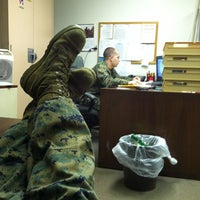 Photo taken at US Marine Corps Reserve Center by Jake L. on 2/12/2012