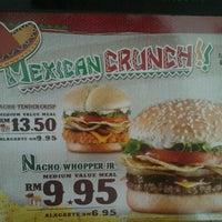 Photo taken at Burger King by Dhaniah M. on 2/20/2012