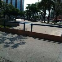 Photo taken at Praça Palmares by Mauro B. on 2/26/2012