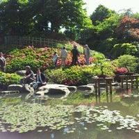 Photo taken at Jardins Albert Kahn by Thomas C. on 5/13/2012