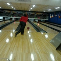 Photo taken at Cataratas Bowling Center by Mayara A. on 8/27/2012