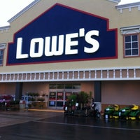 Photo taken at Lowe's Home Improvement by Bryan B. on 4/26/2012