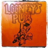 Photo taken at Looney's Pub by Sean B. on 3/9/2012