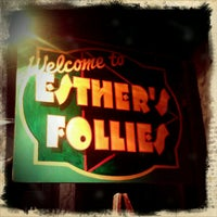 Photo taken at Esther's Follies by Jonathan S. on 3/15/2012