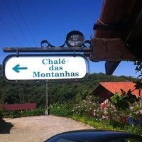 Photo taken at Chalé das Montanhas by Edson F. on 9/2/2012