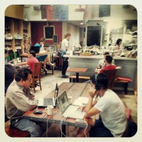 Photo taken at Stories Books & Cafe by Photo L. on 4/21/2012