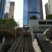 Photo taken at Angels Flight Railway by Erik S. on 5/3/2012
