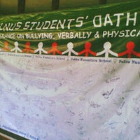 Photo taken at Pelita Nusantara Secondary School by Perina W. on 7/24/2012