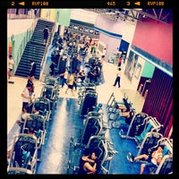 Photo taken at Fitness First by Kuk K. on 8/25/2012
