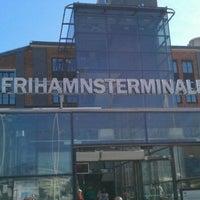 Photo taken at Frihamnsterminalen   Tallink - S:t Peter Line by Mikus L. on 4/28/2012