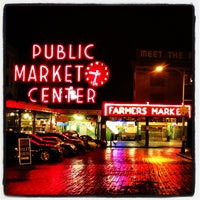 Photo taken at Pike Place Fish Market by Abraham Ronel M. on 2/18/2012