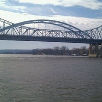 Photo taken at Mississipi river by Steph M. on 3/11/2012