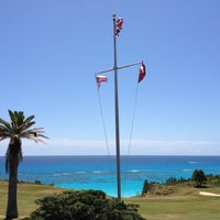Photo taken at The Mid Ocean Club by Kent H. on 4/21/2012
