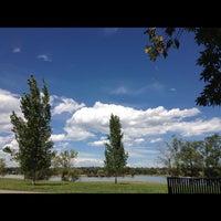 Photo taken at Sloan's Lake Park by Kris K. on 9/3/2012