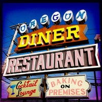 Photo taken at Oregon Diner by Gretchen M. on 3/18/2012