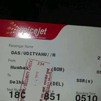 Photo taken at FlySpicejet@SG 851 BOM - DEL by Uditvanu D. on 2/26/2012