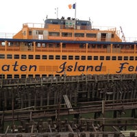 Photo taken at Staten Island Ferry - St. George Terminal by Katherine M. on 4/17/2012