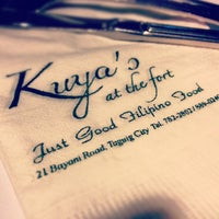 Photo taken at Kuya's at the Fort by Joseph R. on 7/14/2012