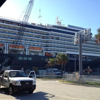 Photo taken at Holland America Westerdam by Jake D. on 4/25/2012