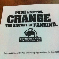 Photo taken at Buffalo Wild Wings by Yamillette L. on 3/25/2012