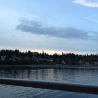 Photo taken at Bainbridge Island Ferry Terminal by Felice L. on 3/17/2012