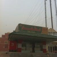 Photo taken at مواقف جمعية عبدالله مبارك الصباح by Ali B. on 3/18/2012