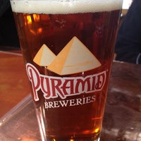 Photo taken at Pyramid Brewery & Alehouse by ian on 3/11/2012