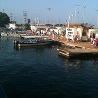 Photo taken at Muelle de la Bodeguita by Liliana T. on 2/8/2012