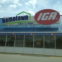 Photo taken at IGA by James L. on 6/3/2012