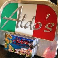 Photo taken at Aldo's Ristorante & Bar by sj 💋 on 4/6/2012