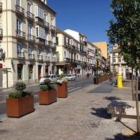 Photo taken at Plaza de la Merced by Andrey T. on 7/1/2012