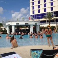 Photo taken at Hard Rock Hotel Pool by Tanner D. on 6/17/2012