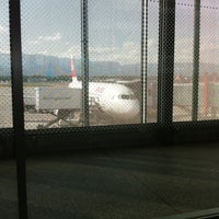 Photo taken at Gate A5 by Clara R. on 5/27/2012