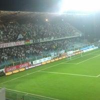 Photo taken at Orogel Stadium Dino Manuzzi by Tamara B. on 8/27/2012