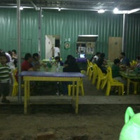 Photo taken at stall no 10 tanjung lobang by Shafiera M. on 6/2/2012