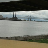 Photo taken at Gretna Ferry Terminal by Tyler B. on 6/8/2012
