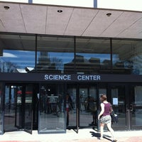 Photo taken at Harvard Science Center by Andri D. on 3/23/2012