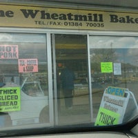 Photo taken at Wheatmill Bakery by Gez B. on 5/8/2012