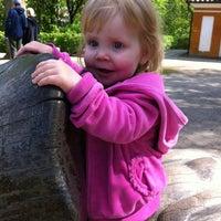 Photo taken at Legepladsen - Frederiksberg Have by Christina Helle K. on 5/6/2012
