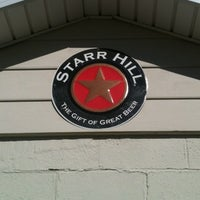 Photo taken at Starr Hill Brewery by Kellie S. on 4/6/2012