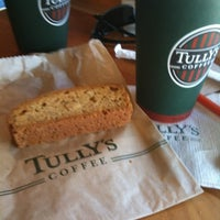 Photo taken at Tully's Coffee by Denise on 4/15/2012