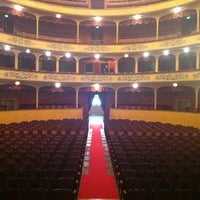 Photo taken at Teatro Storchi by Alessandro N. on 2/28/2012