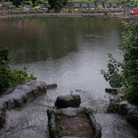 Photo taken at Peasholm Park by Peter T. on 8/29/2012